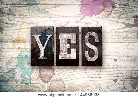 Yes Concept Metal Letterpress Type