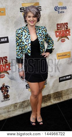 Kelly Osbourne at the 2010 Guys Choice Awards held at the Sony Pictures Studios in Culver City, USA on June 5, 2010.