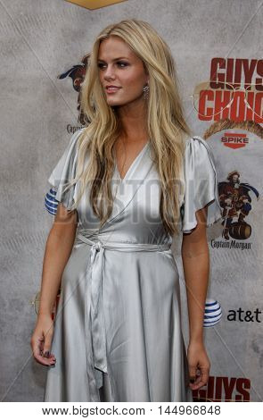 Brooklyn Decker at the 2010 Guys Choice Awards held at the Sony Pictures Studios in Culver City, USA on June 5, 2010.
