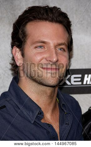 Bradley Cooper at the 2010 Guys Choice Awards held at the Sony Pictures Studios in Culver City, USA on June 5, 2010.
