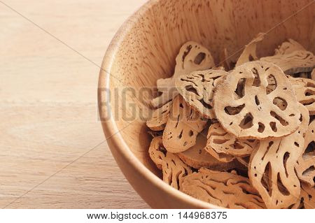 Lotus Root And Sliced Section