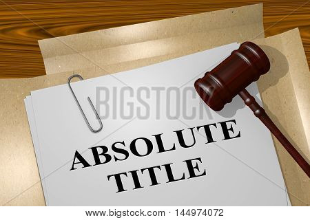 Absolute Title - Legal Concept