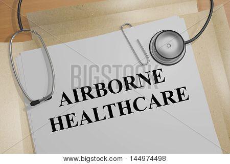 Airborne Healthcare - Medical Concept
