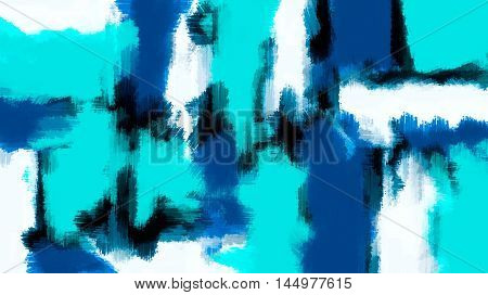 blue black and dark blue painting abstract with white background