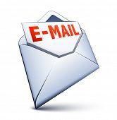 Постер, плакат: Икона электронной почты