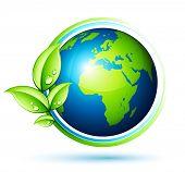 Постер, плакат: Зеленая Земля