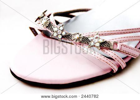 Pink Shoe Detail
