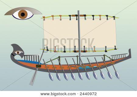 Egyptian A Vessel