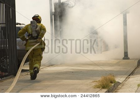 The Brave Fireman