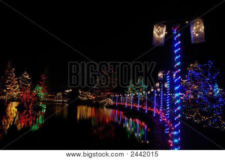 Christmas Lights Festival And Celebration At Vandusen Gardens