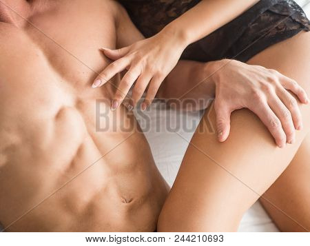 Erotic Play Couple In Love