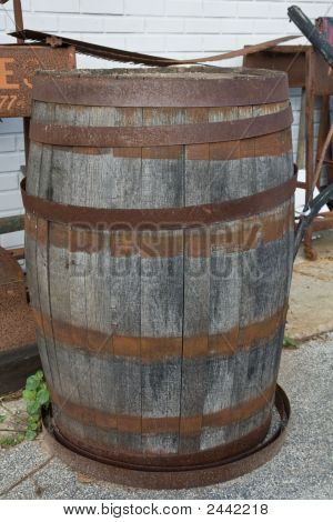 Dirty Old Barrel