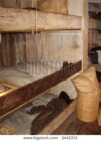 Bunks On Old Ship
