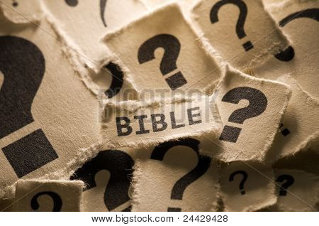 Concepto de religión - Biblia
