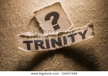 Questioning trinity
