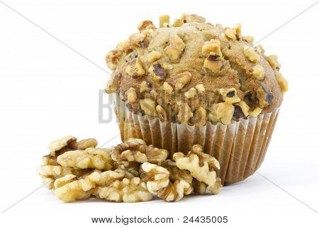 Add Healthy Nuts To Muffins
