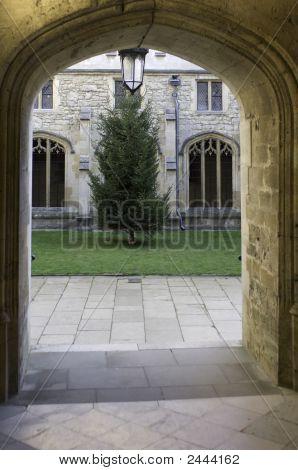 University Of Oxford, Christ Church College Doorway