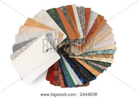 Texture Gude - Fan, Collection Of Textures With Clipping Path