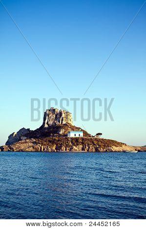 Church On Kastri Island