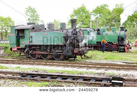 steam locomotives, Kolubara, Serbia