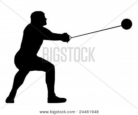 Male Hammer Thrower