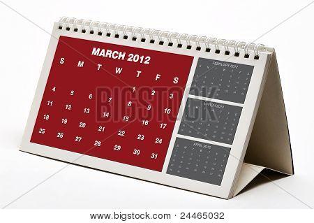 March 2012 Calendar
