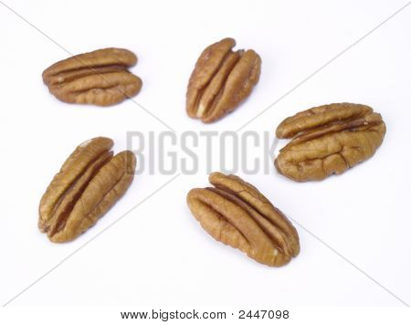 Seperated Pecans