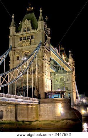 Night Shot Of Tower Bridge