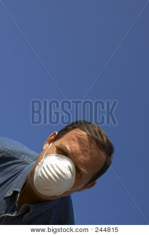 Ecologist In Mask