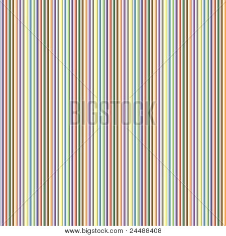 Seamless Multi-colored Abstract Texture - Vertical Stripes