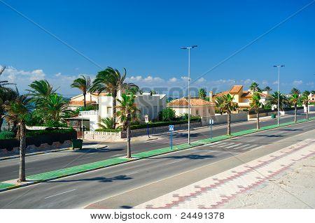 La Manga Del Mar Menor General Street View, Spain