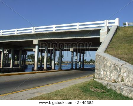 Bridge At Varadero Entrance