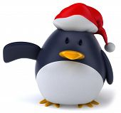 picture of santa-claus  - Penguin - JPG