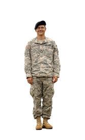 foto of army soldier  - A real U - JPG