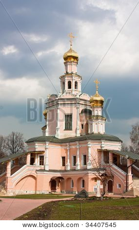 The Church Of Boris And Gleb In Zyuzino,moscow,russia