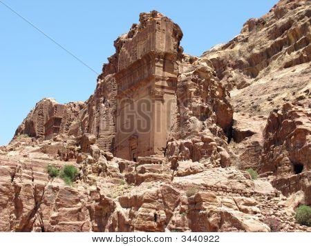 Ruins Of Petra