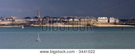 Saint Malo Intra Muros Panorama