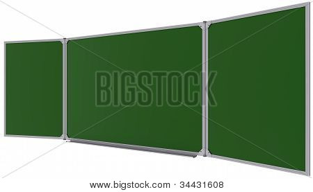 Big Magnetic Green Board