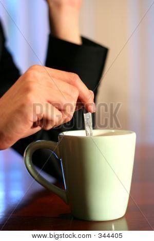 Having A Cuppa