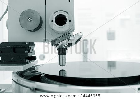 Scientific Microscope In A Laboratory