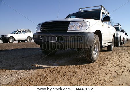 Offroad In The Desert