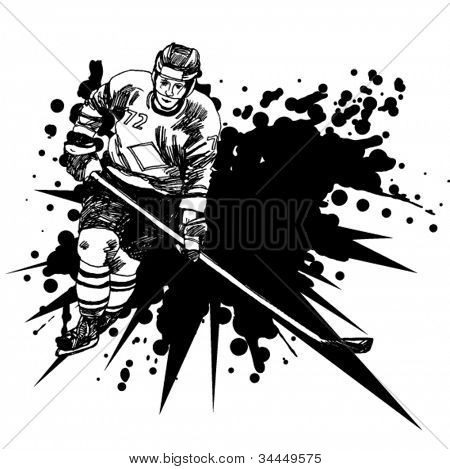 Background With a Hockey Player 6
