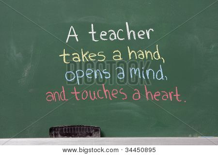 Inspirational Phrase For Teacher Appreciation