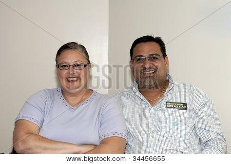 Mayor Of Guanica Puerto Rico Martín Vargas Morales With Wife Of Yomo Toro