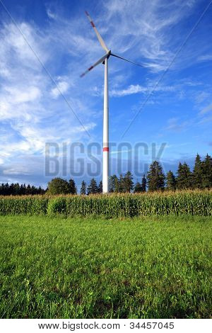 Rural Wind Turbine