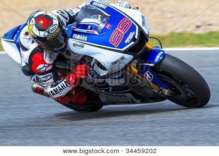 Jorge Lorenzo Piloten der motogp