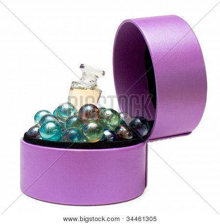 Perfume In Box (purple)