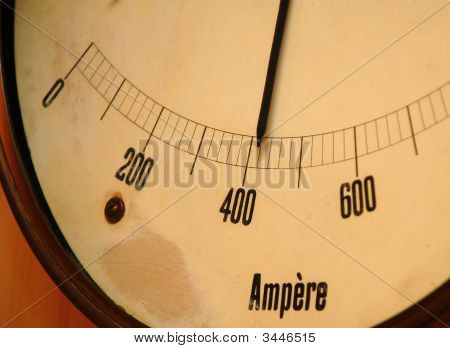 Old Ampermeter