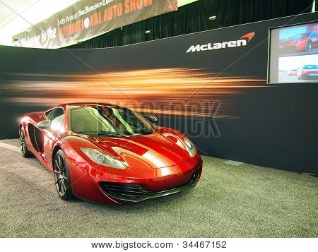 Mclaren C12 Sports Car On Display