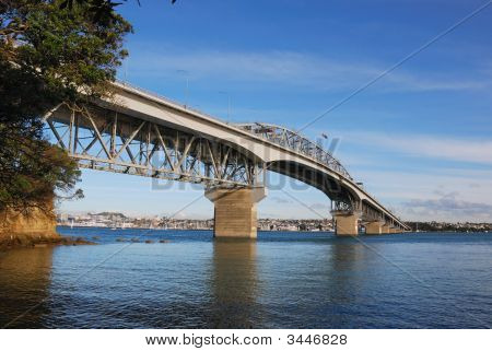 Auckland Harbor Bridge, New Zealand